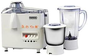 Usha 3345 450 W Juicer Mixer Grinder ( White , 2 Jars )