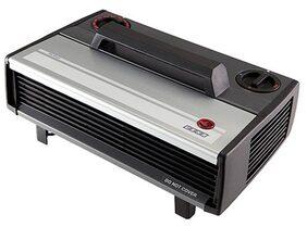USHA 812-T Fan Room Heater (Black & Silver)