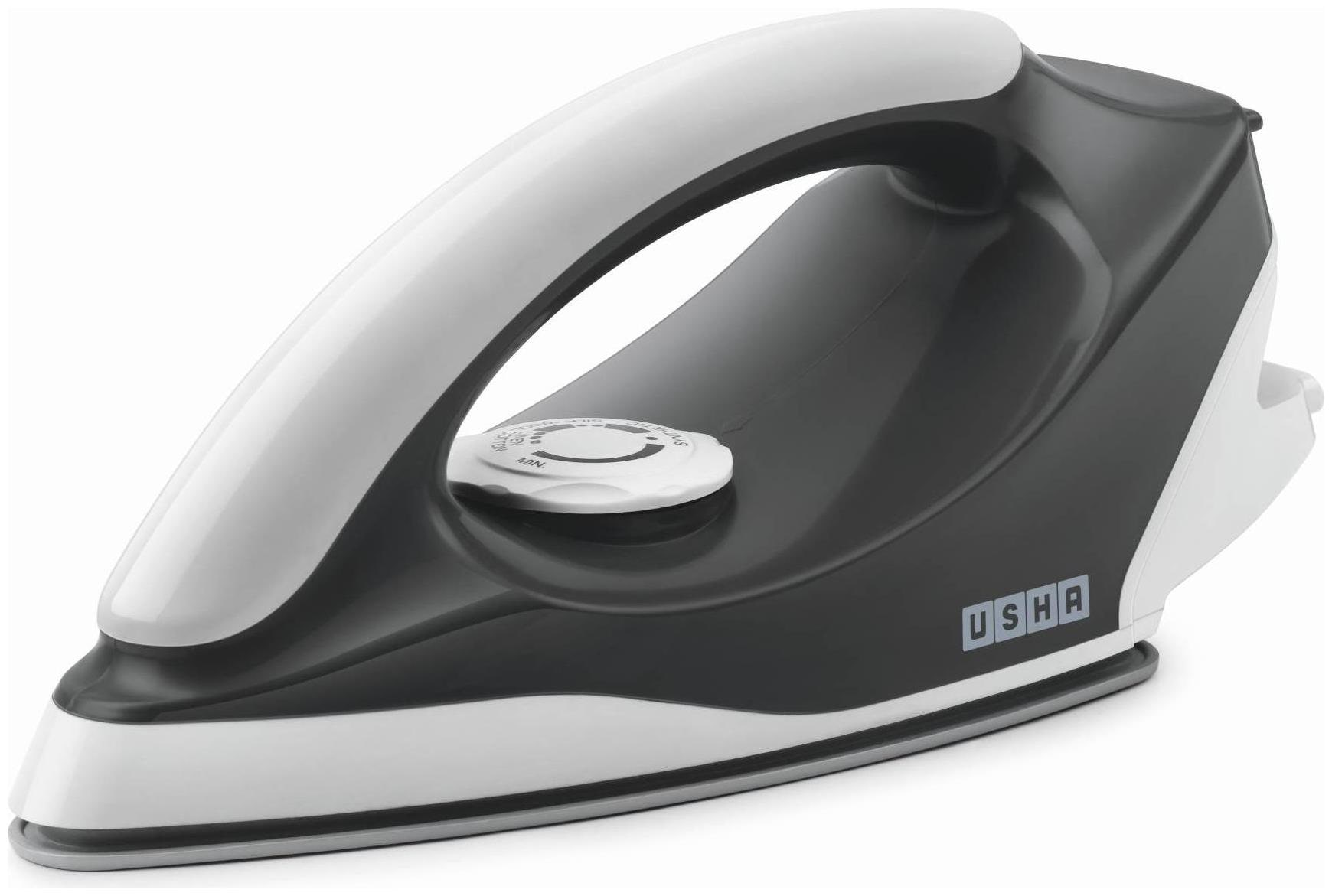 Usha Aurora Pack of 12 1000 W Dry Iron  (Gray White)