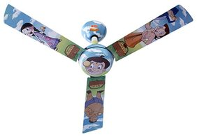 USHA Chhota Bheem-Ladoo 3 Blades (1200 mm) Ceiling Fan (Multi Color)