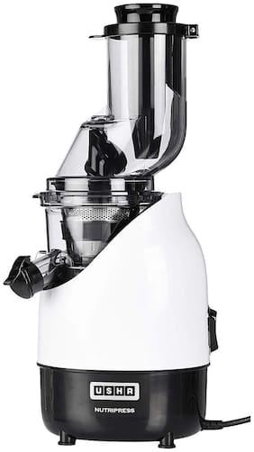 Usha CPJ 382F 200 W Juicer ( White & Black , No Jar )