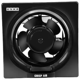 Usha Crisp Air 200 mm Standard Exhaust Fan ( Black , Pack of 1 )