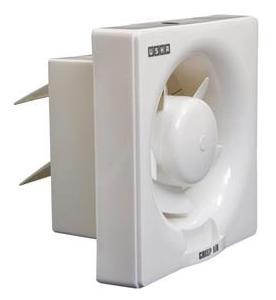 Usha Crisp Air 5 Blades 250 mm Exhaust Fan (White)