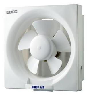 Usha Crisp Air (250 mm) 5 Blade Exhaust Fan (White)