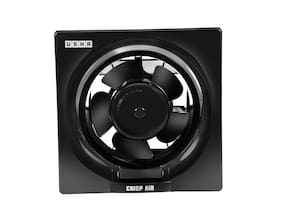 Usha Crisp Air 200 mm Standard Exhaust Fan ( Black , Pack of 1 )