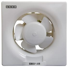 Usha Crisp Air 250 mm Standard Exhaust Fan ( Pearl white , Pack of 1 )