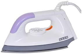 Usha EI 1602 1000 W Dry Iron (White & Purple)