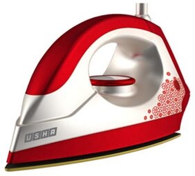 Usha EI 3302 Gold Velvet 1100 W Dry Iron (White & Red)