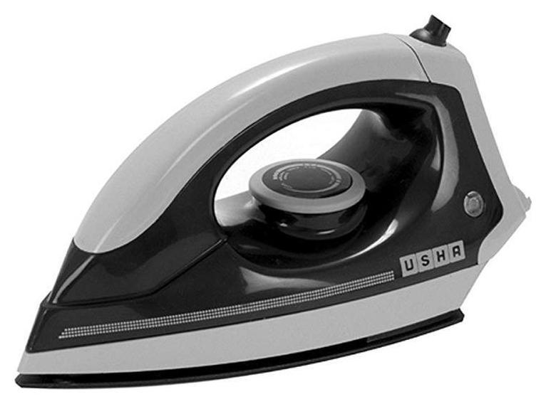 Usha EI 3302 Mid Grey 1100 W Dry Iron (Black...