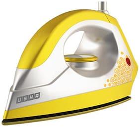 Usha EI 3302 Gold Sulphur 1100 W Dry Iron (White & Yellow)