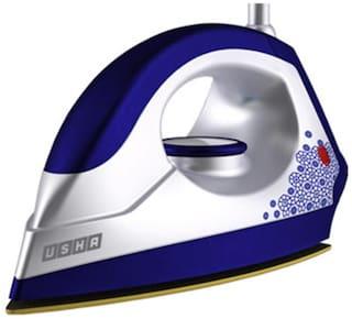 Usha EI 3302 Gold Galaxy 1100 W Dry Iron (White & Blue)