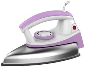 Usha EI 3402 1000 W Dry Iron (White & Purple)