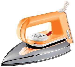 Usha El 2102 Teflon 1000 W Dry Iron (Orange)