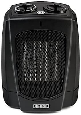 Usha FH 3628 PTC 1800-Watt Fan Heater (Black)