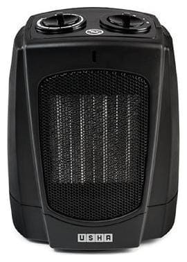 Usha FH 3628 PTC  Fan Heater (Black)
