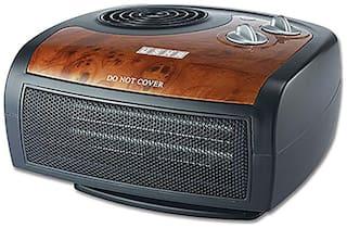 USHA FH1212 PTC Room Heater (Black & Brown)