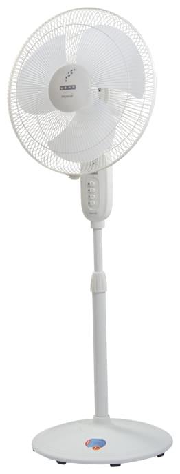 Usha Maxx 400 mm Decorative Pedestal Fan ( White , Pack of 1 )