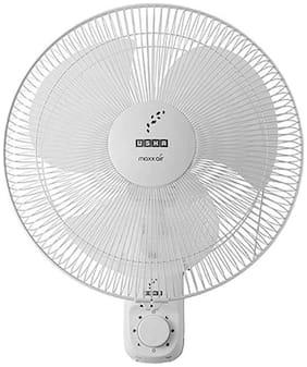USHA Maxx 3 Blade (400 mm) Wall Fan (White)