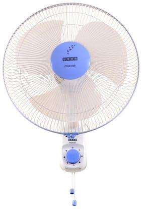 Usha Maxx Air 400 mm Standard Wall Fan ( Blue & White , Pack of 1 )