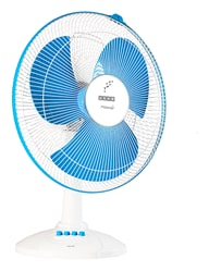 Usha Maxx Air 3 Blades 400 mm Table Fan (Blue)