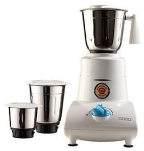 USHA MG 2753 500 W Mixer Grinder ( White , 3 Jars )