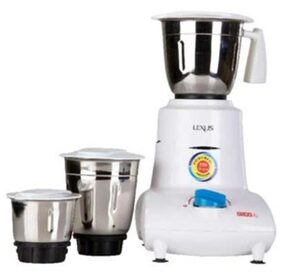 USHA MG-2753 500 W Mixer Grinder (White/3 Jars)