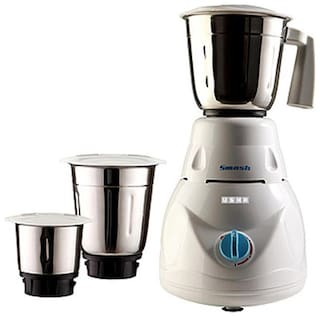 USHA MG 2853 SMASH 500 W Mixer Grinder ( White , 3 Jars )