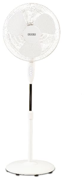 Usha Mist Air Duos 400 mm Standard Pedestal Fan ( White , Pack of 1 )
