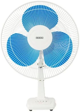 Usha Mist Air Ex 400 mm Decorative Table Fan ( Blue , Pack of 1 )