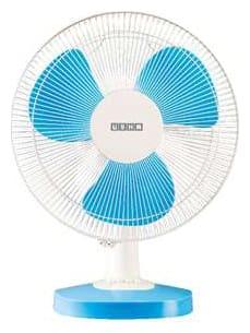 Usha MIST AIR DUOS 400 mm Table Fan - Blue