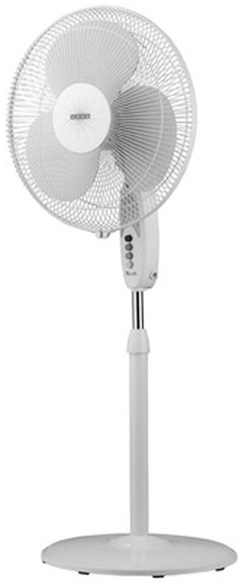 USHA Mistair Pedestal 3 Blade (400 mm) Pedestal Fan (White)