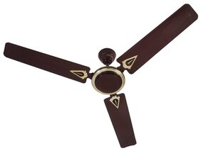 USHA New Trump Hi Speed 3 Blades (1200 mm) Ceiling Fan (Brown)