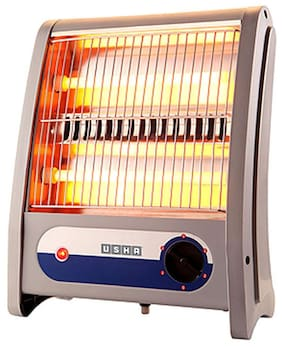 USHA Qh-3002 Halogen Room Heater (Grey)