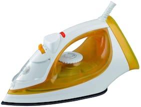USHA SI 3816 1600-Watt Steam Iron (Yellow;White)