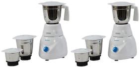 Usha MG 2853 500 W Mixer Grinder ( White , 3 Jars )