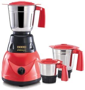 Usha SPEEDMAX SP500M23 500 W Mixer Grinder ( Red , 3 Jars )