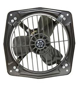 Usha Turbo Jet Deluxe (300 mm) 3 Blade Exhaust Fan (Metallic Grey)