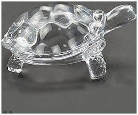 VAGMI Shubh Wish Glass Tortoise