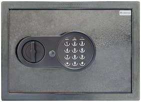 Valencia Crux 200 Keypad Steel Home Safe ( Grey , 9 L )