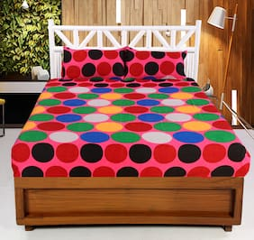Valtellina 3D Printed 1 Double bedsheet with 2 Pillow Covers