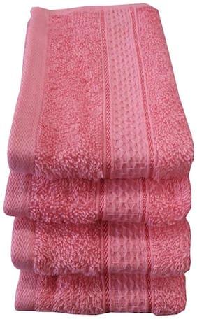 Valtellina 500 GSM Cotton 4 Piece Face Towel Set (30X30) RFT-006