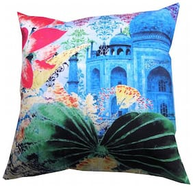Valtellina India Taj Mahal - A Tribute to Beauty 3D Digital Cushion Cover - Pack of 1