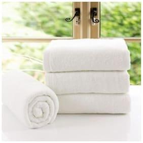 Valtellina Plain White Hand Towel set of 4