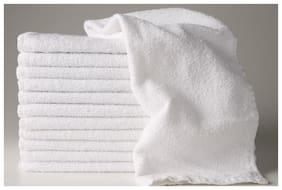 Valtellina Soft Quality 12 White Face Towel