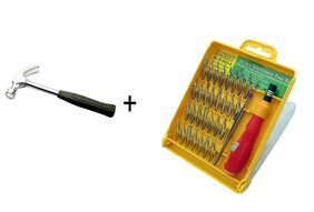 Valuqo hand tool (Screw Driver and Hammer)