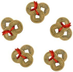 Vastu Art Vastu / Feng Shui / Set Of 15 Lucky Coins