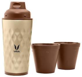 Vaya 350 ml Stainless steel Golden Water bottles - 1 pc