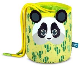 Vaya GoChamp Panda Theme Lunch Bag for Kids, Dust Proof Lunch Bag for School, Color: Panda