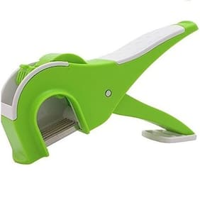 Veg Cutter, Mirchi Cutter With Lock System (Color May Vary)