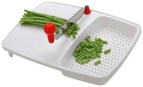 Vegetable and Fruit Cutting Board Chopper (1 Vegetable and Fruit Cutting Board)